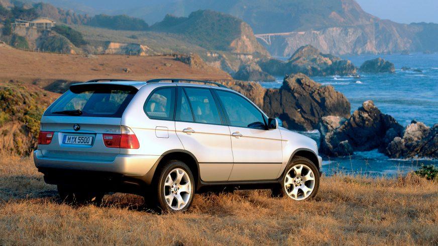 1999 год — BMW X5 (E53) первого поколения