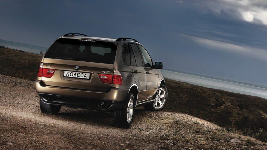 2003 год — BMW X5 (E53) первого поколения (рестайлинг)