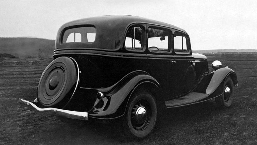 1936 год — ГАЗ М-1