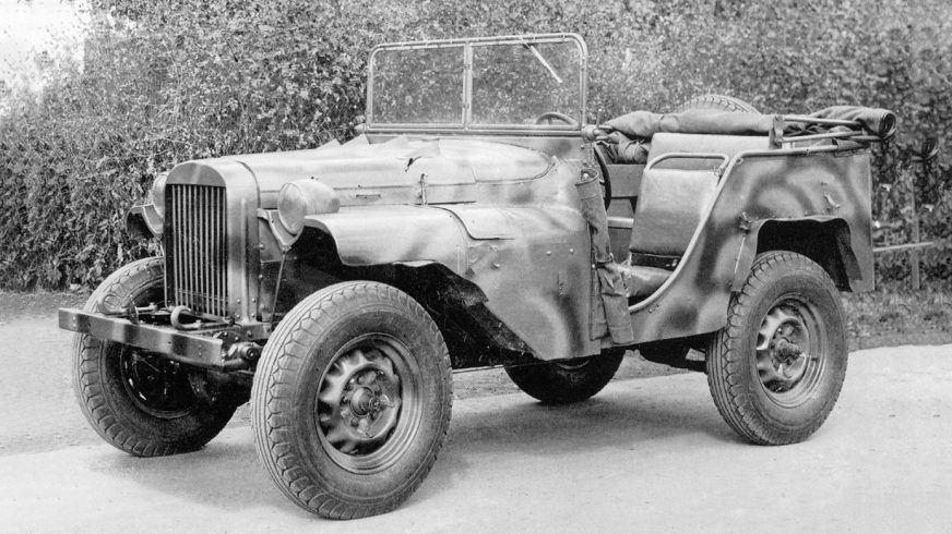 1941 год — ГАЗ-64