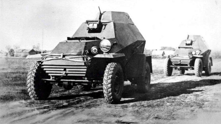 ГАЗ-БА-64 - 1942