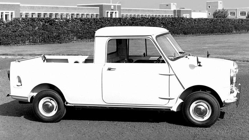 1961 год — Morris Mini Pick-up (ADO15)
