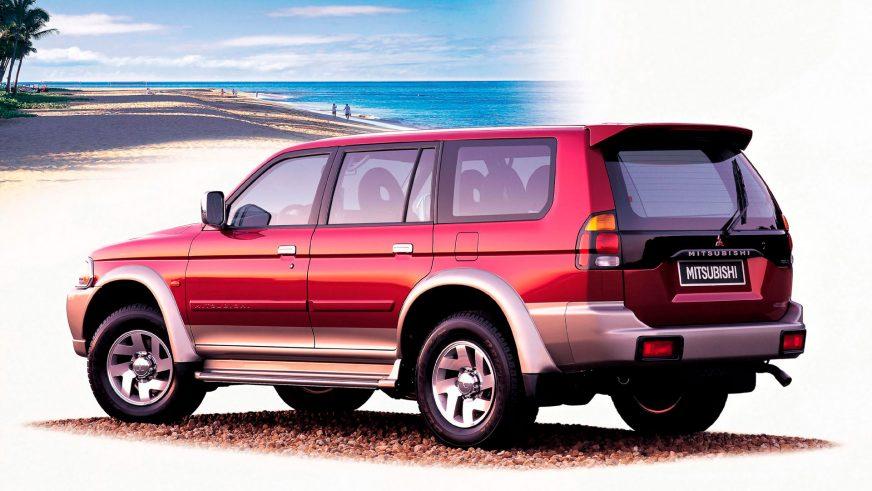 1996 год — Mitsubishi Pajero Sport первого поколения