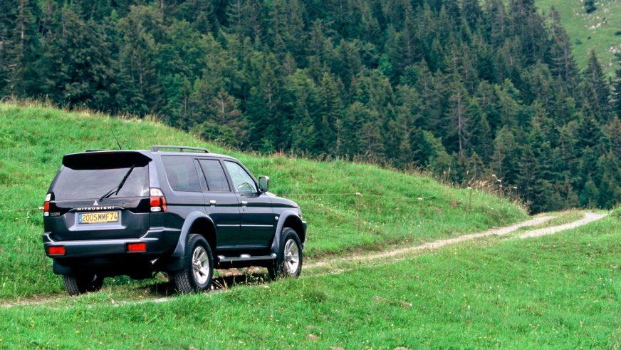 2005 год — Mitsubishi Pajero Sport первого поколения (рестайлинг)