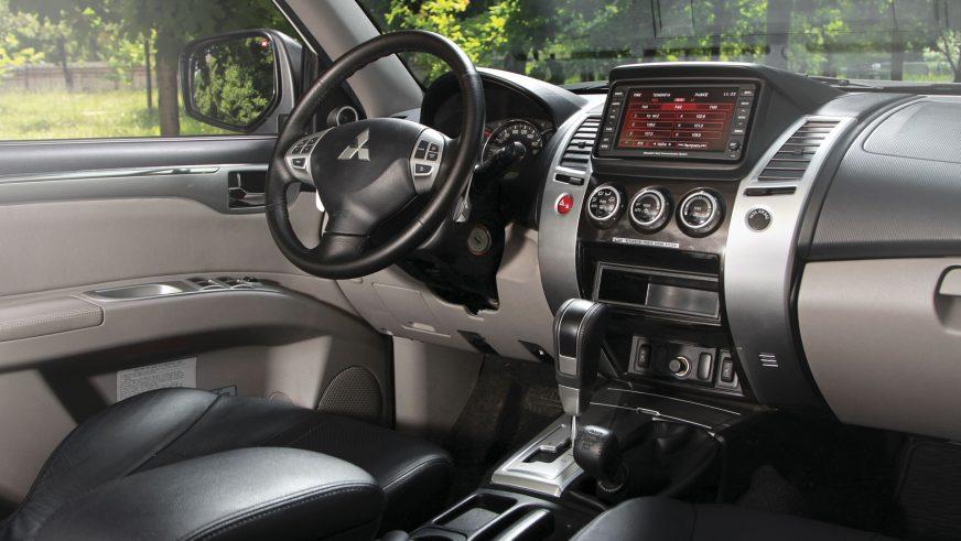 2008 год — Mitsubishi Pajero Sport второго поколения