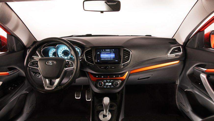 2015 год — Lada Vesta Cross Concept
