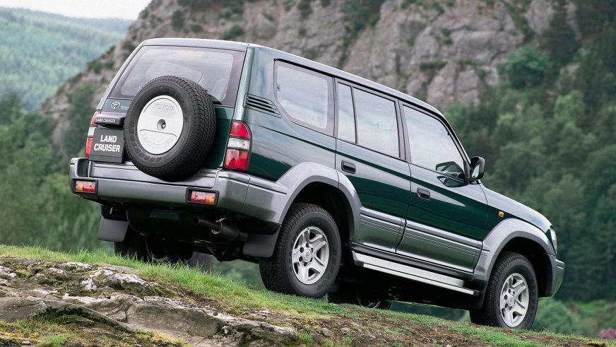 1996 год — Toyota Land Cruiser Prado (95)