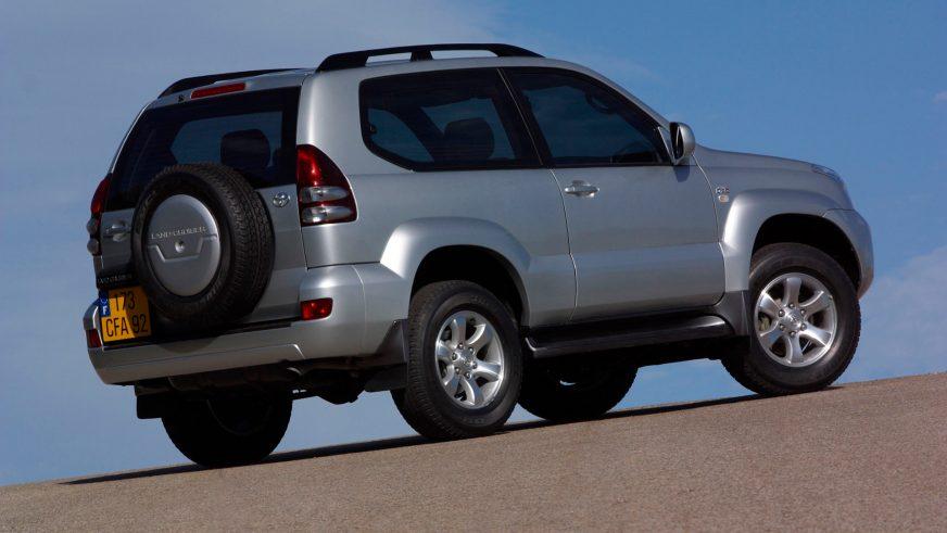 2002 год — Toyota Land Cruiser Prado (125)
