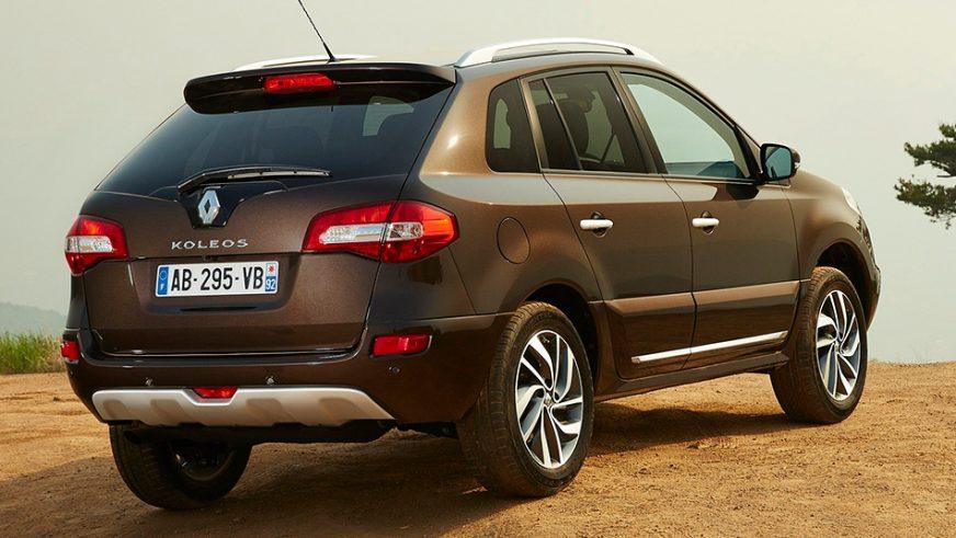2013 год — Renault Koleos первого поколения (рестайлинг)