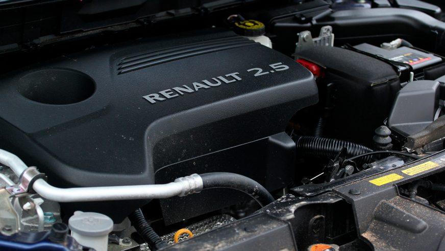 Renault Koleos - 2016 - двигатель
