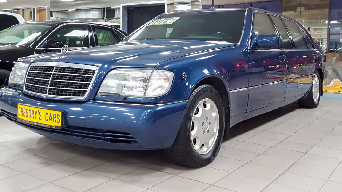 Mercedes-Benz S-Class W140 Бориса Ельцина