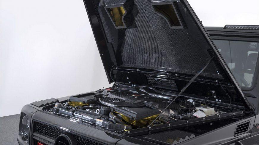 Brabus выпустит десять G-Class с 900-сильным мотором
