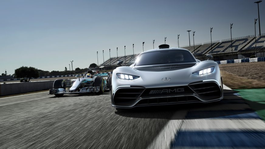 Mercedes-AMG презентовала гиперкар Project One