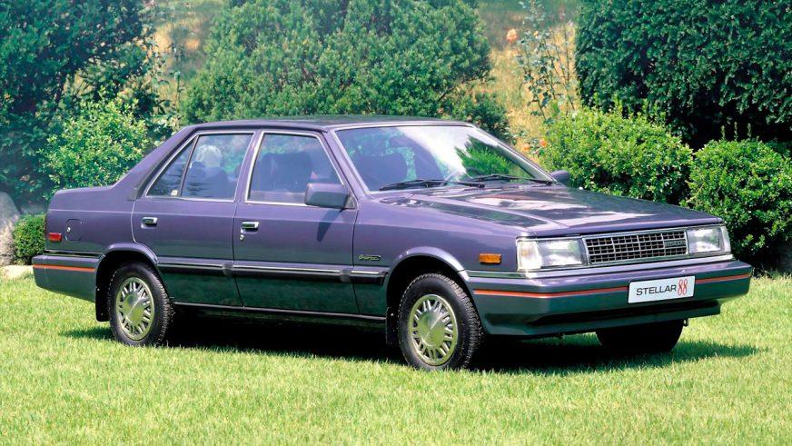 1983 год — Hyundai Sonata первого поколения