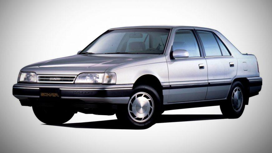 1988 год — Hyundai Sonata второго поколения