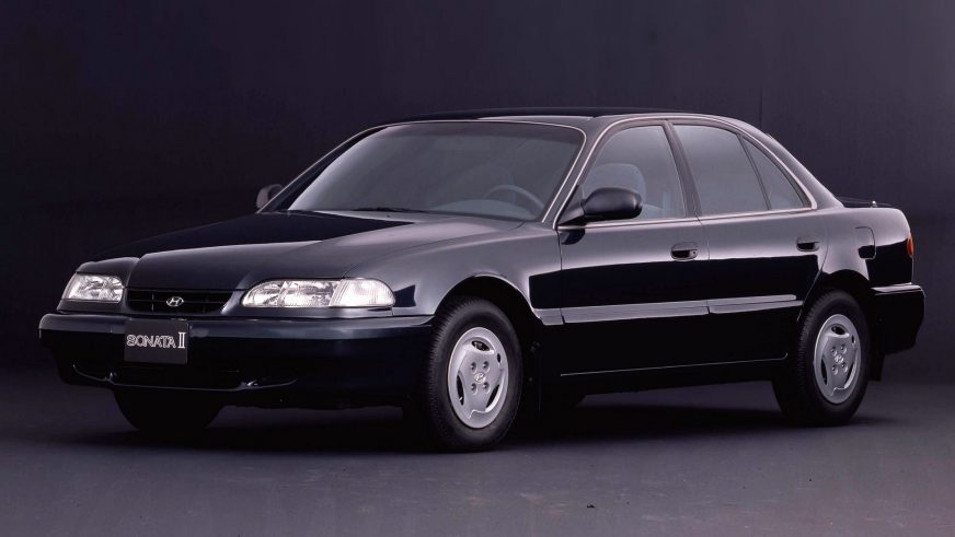 1993 год — Hyundai Sonata третьего поколения