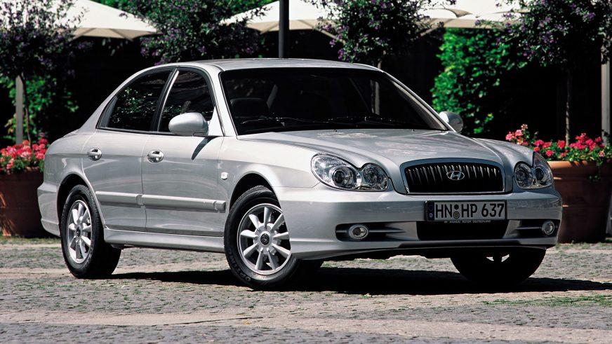 2001 год — Hyundai Sonata четвёртого поколения (рестайлинг)