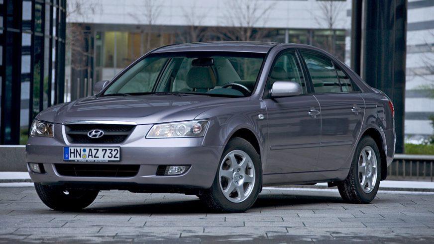 2004 год — Hyundai Sonata пятого поколения