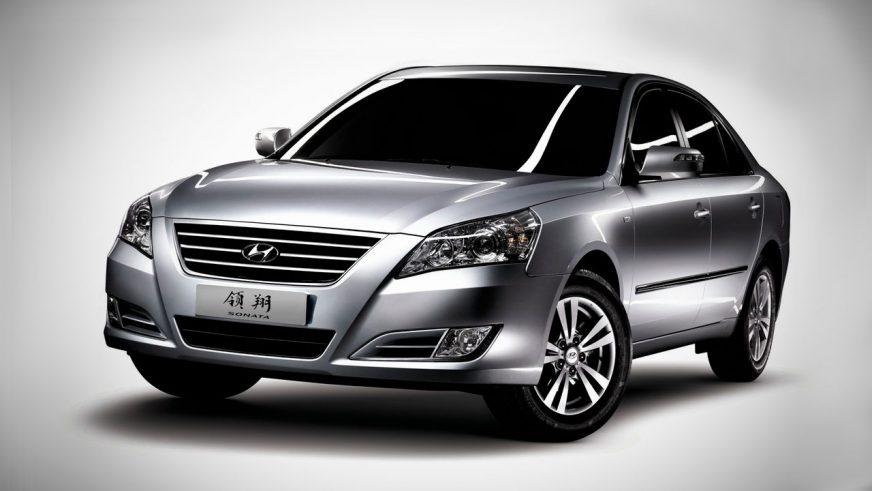 2008 год — Hyundai Sonata пятого поколения (Ling Xiang)