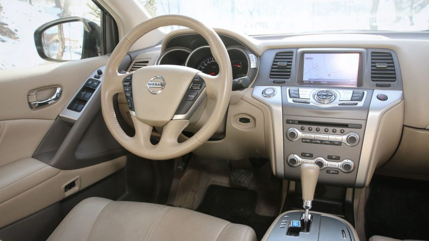 2008 год — Nissan Murano (Z51) второго поколения
