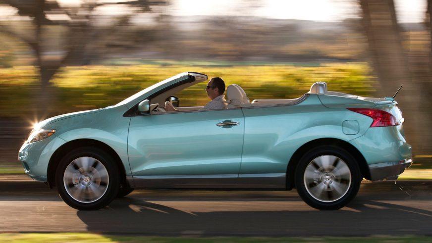 2010 год — Nissan Murano CrossCabriolet (Z51) второго поколения