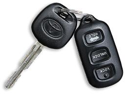 Toyota Matrix - 2005 - ключ