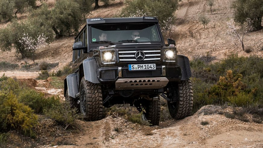 Mercedes-AMG сворачивает производство G500 4x4²
