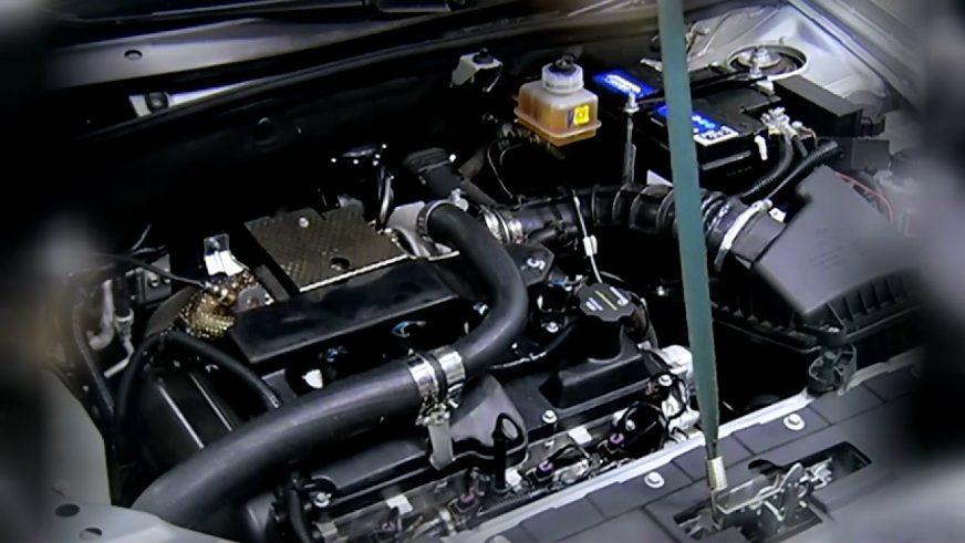 Эксперементальный турбомотор под капотом LADA Granta Hybrid