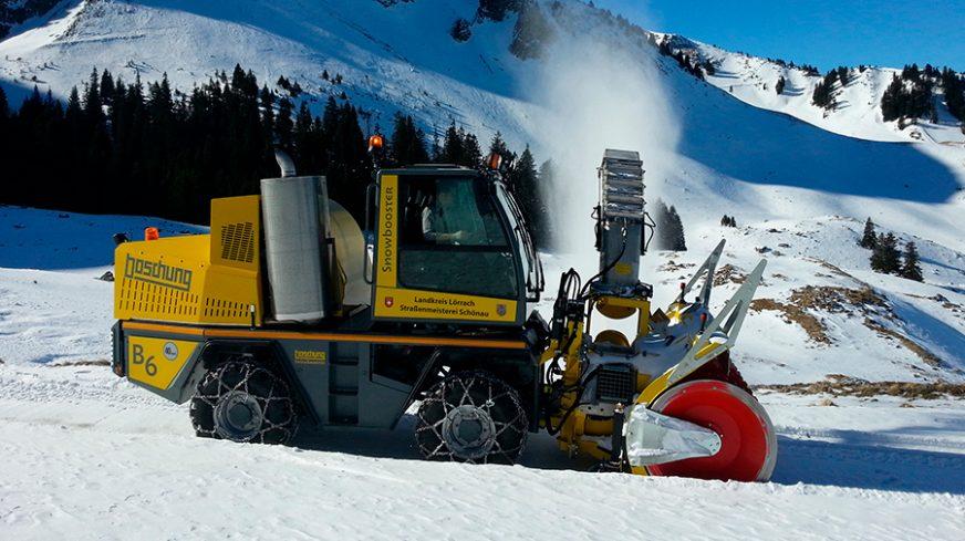 Boschung Snowbooster