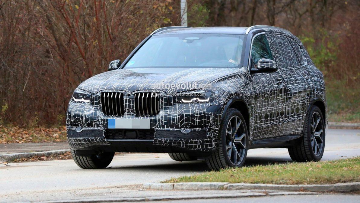 Шпионы сфотографировали новое поколение BMW X5