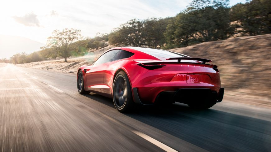 Tesla Roadster первого поколения