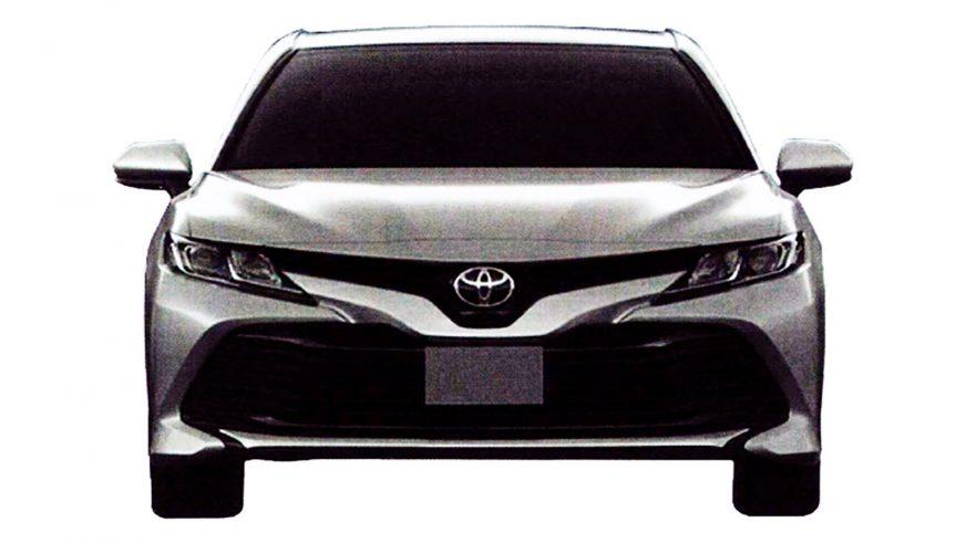 Новая Toyota Camry для СНГ. Появились первые фото