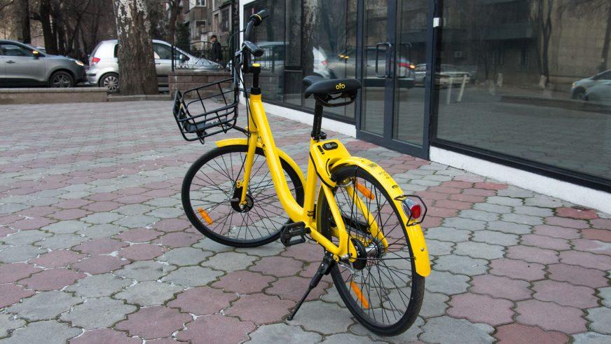 Новый велошеринг появился в Алматы