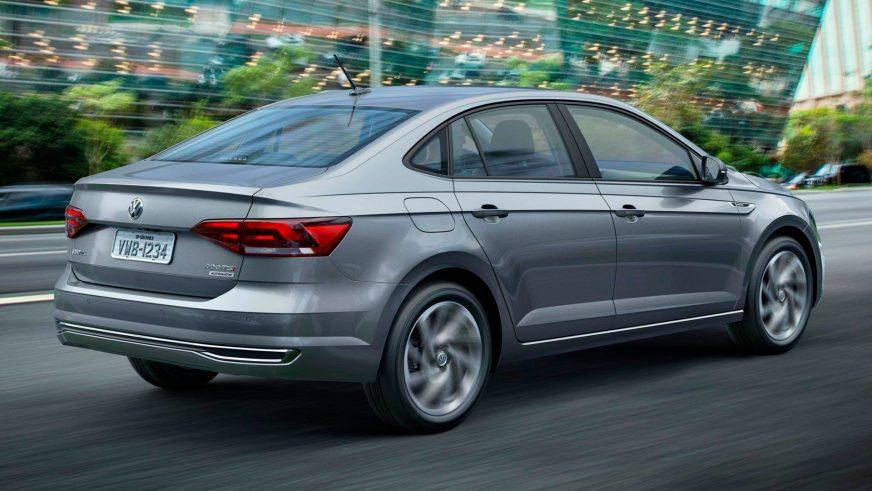 Новый седан Volkswagen Polo показали в Бразилии