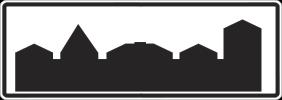 Знак 5.22а «Начало населённого пункта»