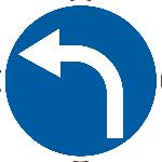 Знак 4.1.3 «Поворот налево»