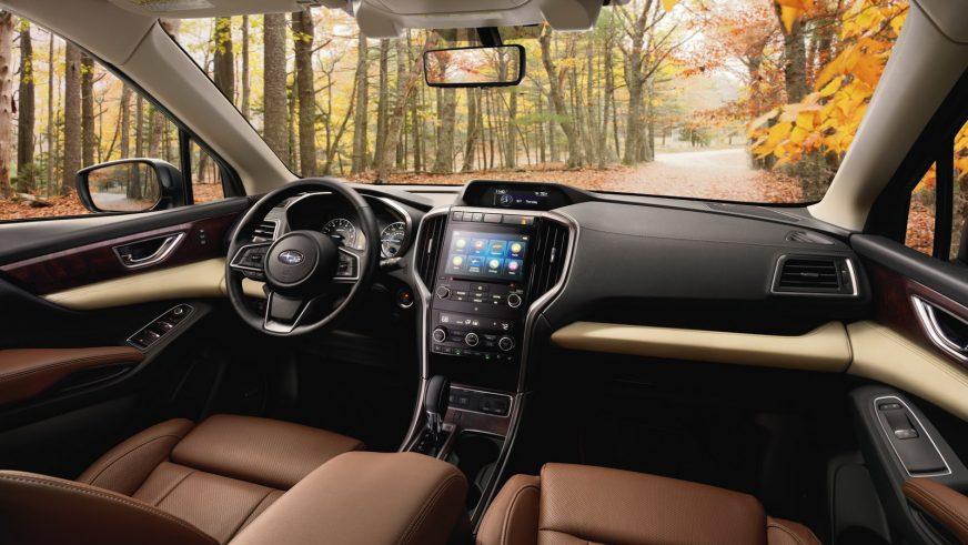 Subaru показала Ascent – новый восьмиместный кроссовер