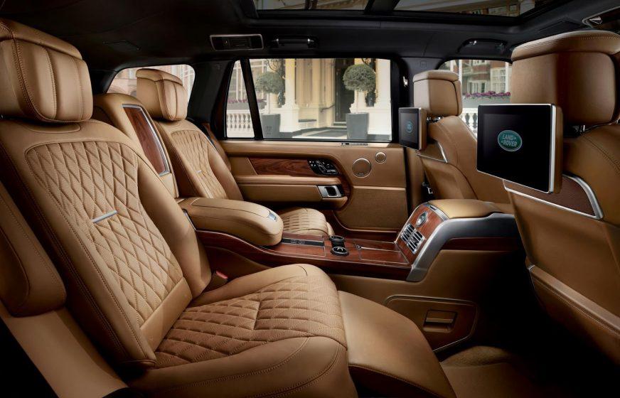 Салон обновлённого Range Rover SVAutobiography