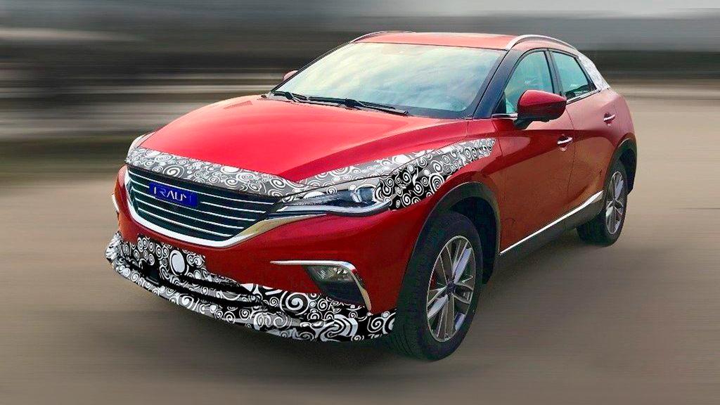 В Китае создали клона Mazda CX-4