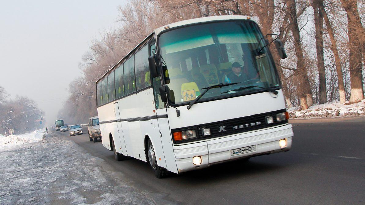 После гибели 52 человек в РК проверяют рейсовые автобусы