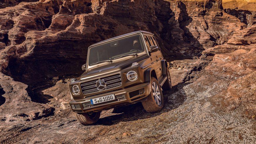 Что изменилось в новом Mercedes-Benz G-Class