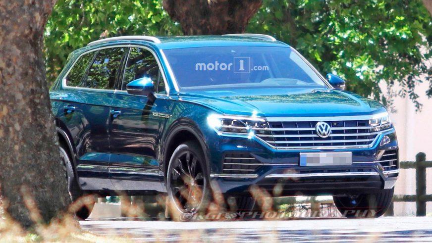 Шпионские снимки Volkswagen Touareg