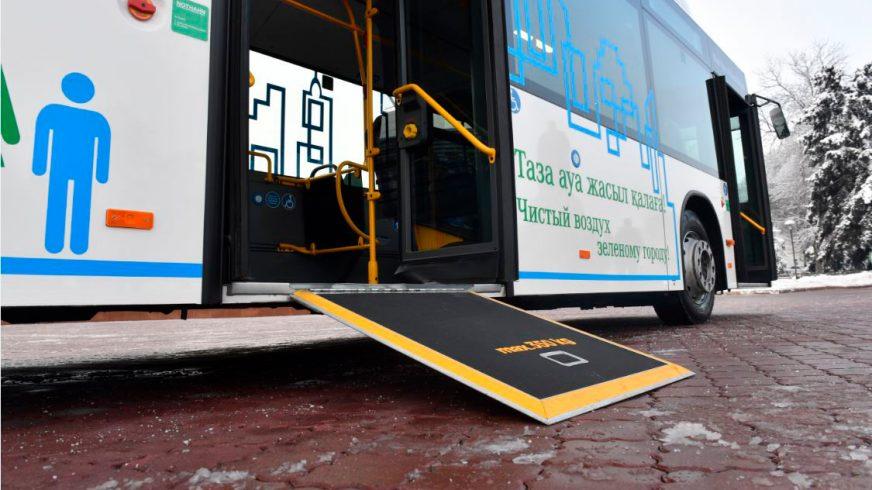 Газовый автобус Mercedes-Benz появится на улицах Алматы