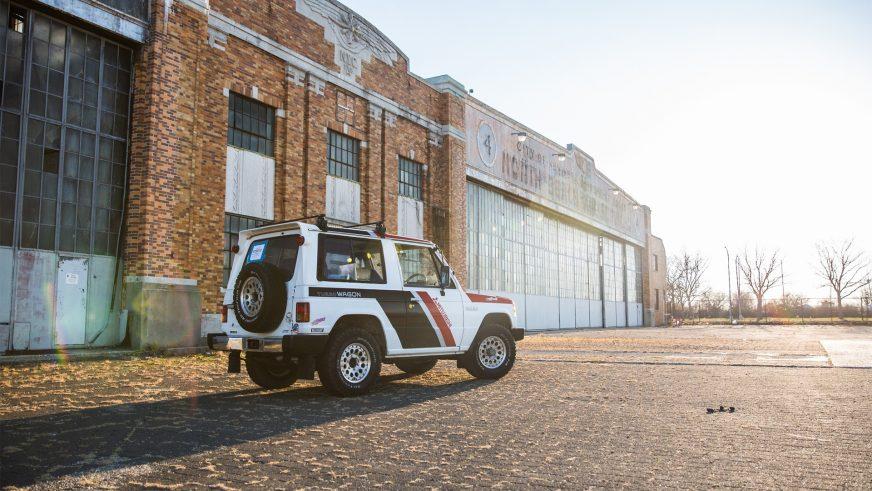 Mitsubishi Pajero Paris – Dakar Special
