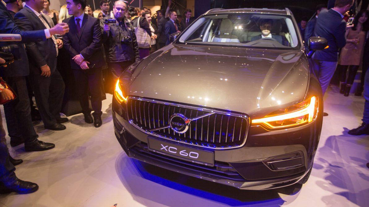 Автосалон Volvo открылся в Алматы