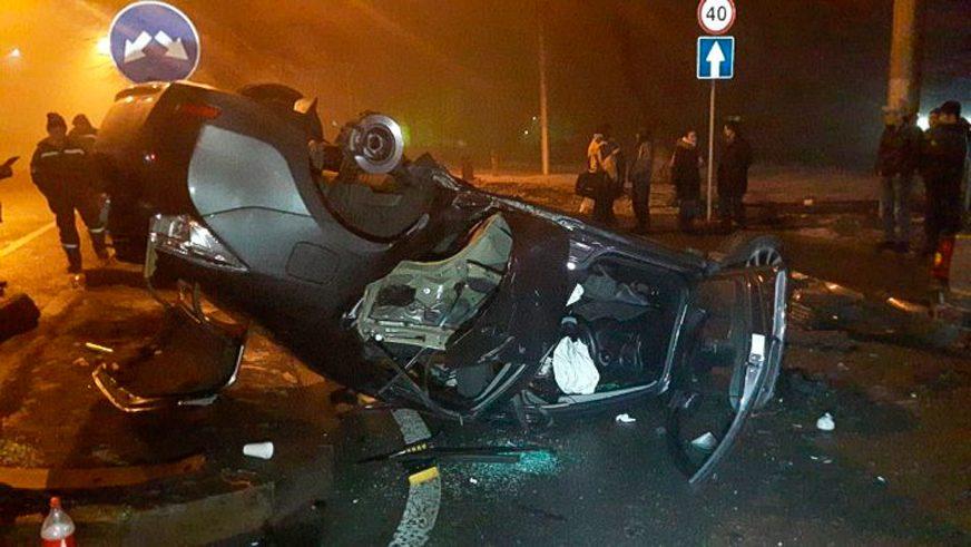 Семеро пострадали в двух серьёзных ДТП в Алматы