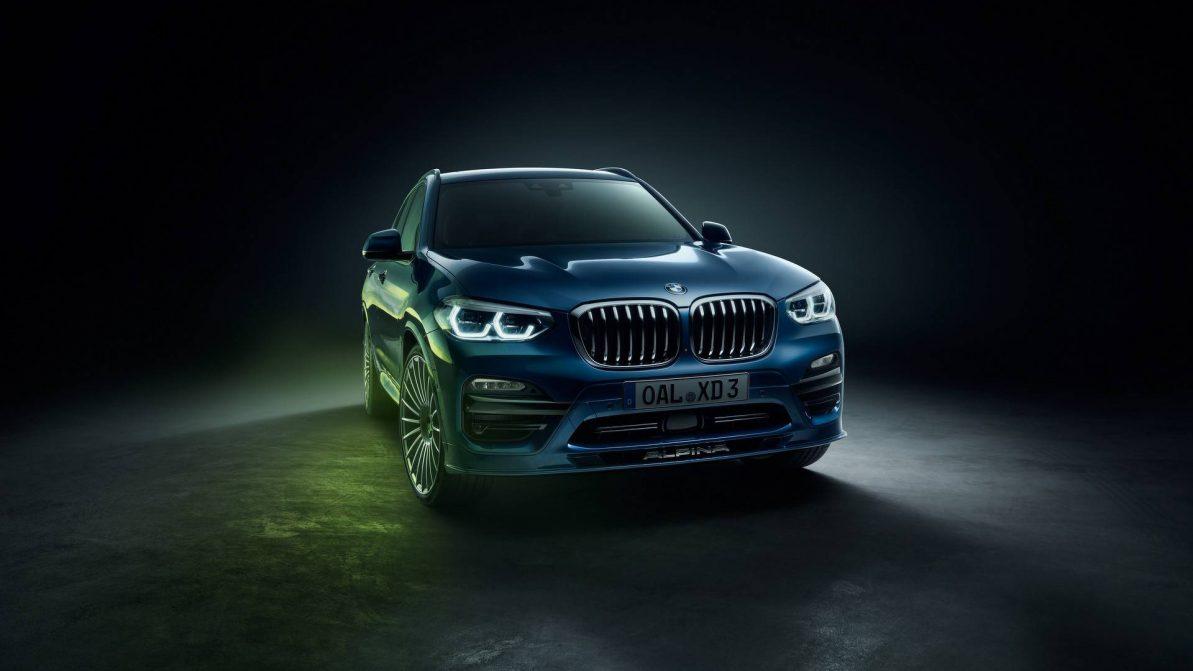 Alpina доработала дизельный BMW X3