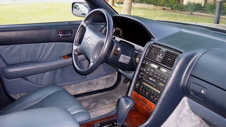 1989 год. Lexus LS 1-го поколения (XF10)