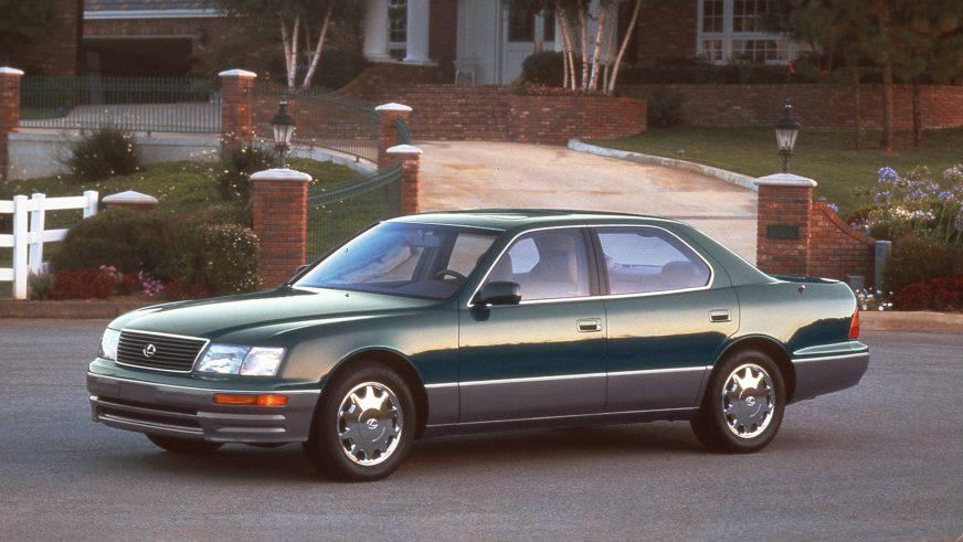 1994 год. Lexus LS 2-го поколения (XF20)