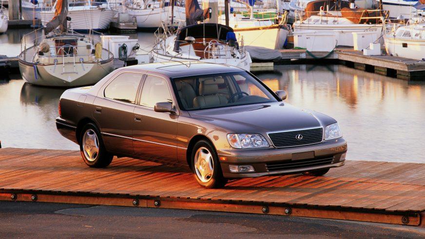 1997 год. Lexus LS 2-го поколения после рестайлинга (XF20)